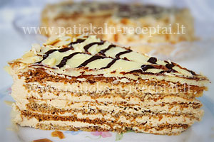 Vengriskas tortas Esterchazy 1
