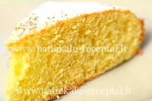 citrininis pyragas su ricotta