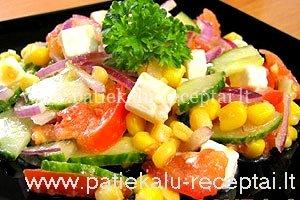 Darzoviu salotu receptai