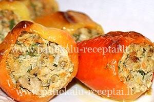 idaryta kepta paprika