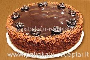 kakavinis medaus tortas