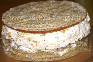 karamelinis tortas su griliazu 2