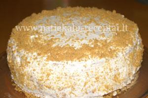 karamelinis tortas su griliazu 4
