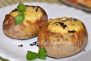 keptos idarytos bulves