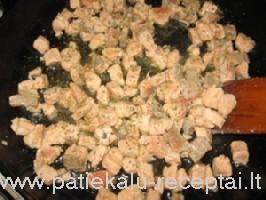 makaronai su lasisa grietineles padaze 1