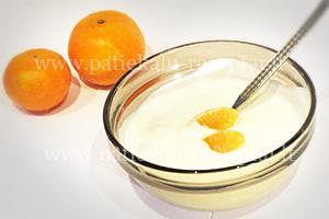 naminis jogurtas su mandarinais