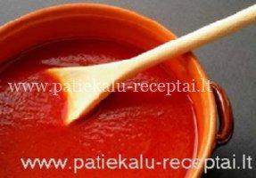 naminis pomidoru padazas