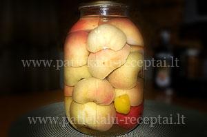 obuoliu kompotas