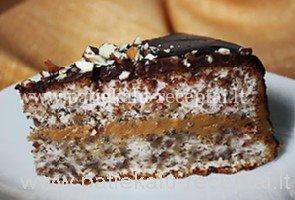 riesutinis tortas
