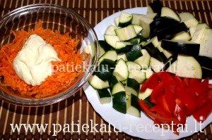 sluoksniuota kiauliena su daržovėmis 2