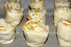 sluoksniuotos bandeles su obuoliais 2