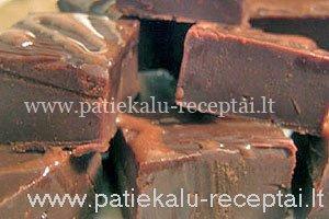 sokoladiniai metiniai saldainiai