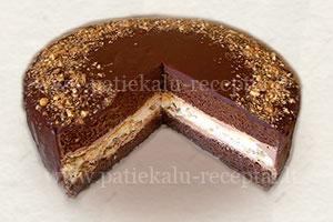 sokoladinis tortas su morengais 2