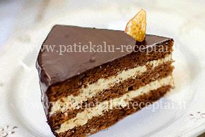 Tortai receptai