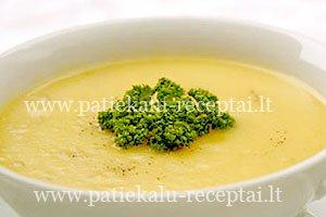 trinta bulviu sriuba