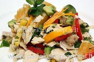 vistienos salotos su metu padazu